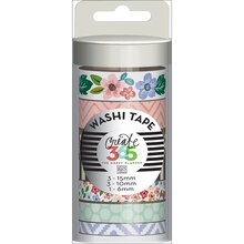 Create 365 The Happy Planner Washi Tape, Fresh Floral